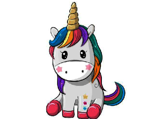 Cute Unicorn Memory